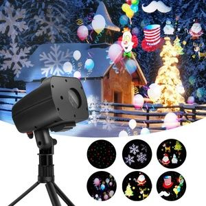 Christmas Laser and LED Projector Light 2 in 1